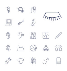22 sketch icons vector