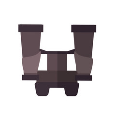 Binocular icon image vector
