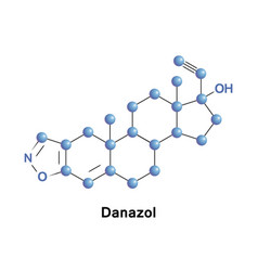 Danazol synthetic steroid vector