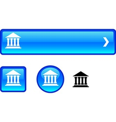 Exchange button set vector