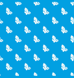 milk product pattern seamless blue vector image