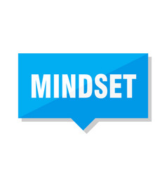 Mindset price tag vector