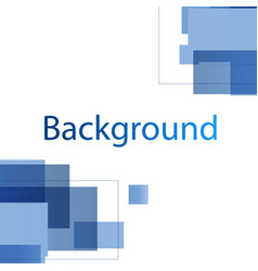 modern blue white design background image vector image