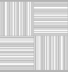 seamless barcode pattern vector image