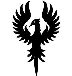 phoenix cartoon vector image