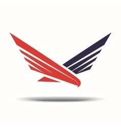 Hawk sign vector image vector image