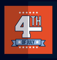 4th of july image vector