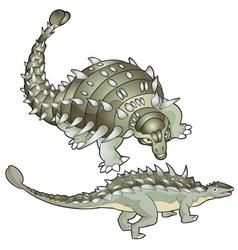 Ankylosaurus vector
