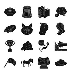 Clothing industry animals and other web icon in vector