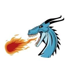 Dragon animal icon vector