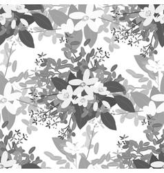 Floral arabis orange background vector