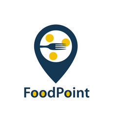 food point icon vector image vector image