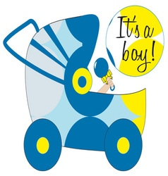 Its A Boy vector