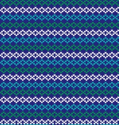 knit nordic stripe vector image