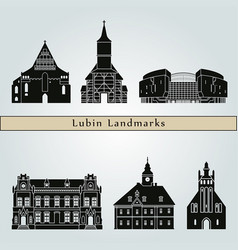 Lubin landmarks vector