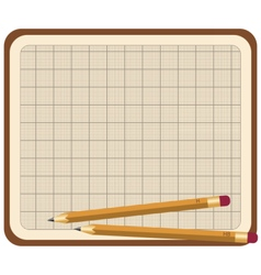 Set of school tools vector image