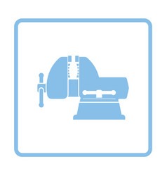 vise icon vector image