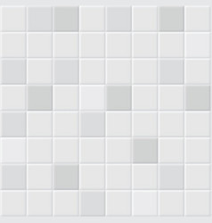 white tile background vector image