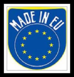 Made in EU sign vector image vector image