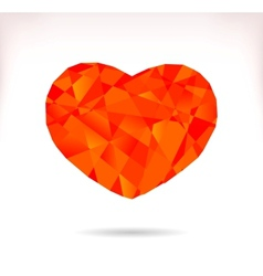 Multicolor srylised heart vector image