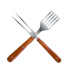 Bbq and grill tools vector
