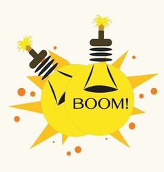 Bulb Bomb vector image