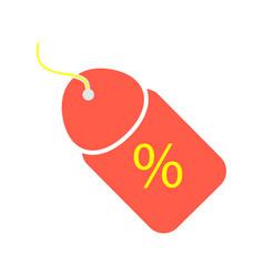 Discount percent sign sale percentage vector