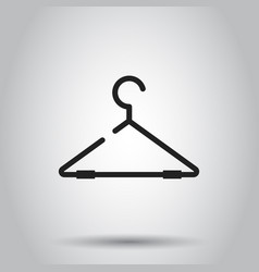 hanger icon on isolated background business vector image
