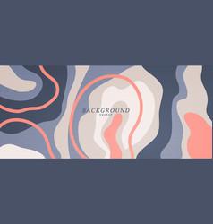 liquid color abstract background design art fluid vector image