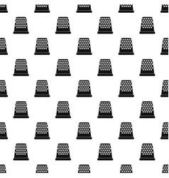 Thimble pattern vector
