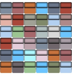 Background with colorful blocks vector image vector image