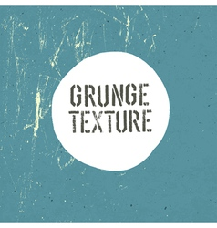 grunge texture template vector image