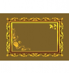frame border vector image vector image