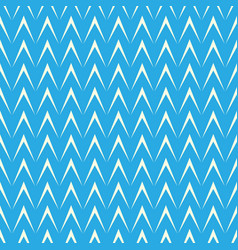 geometric herringbone on blue background vector image vector image