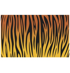 tiger skin texture background vector image