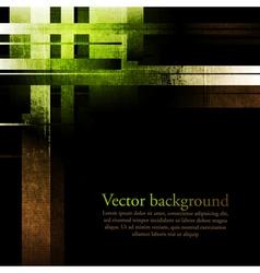 Dark abstract grunge background vector image