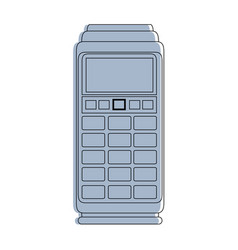 Dataphone electronic device vector