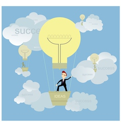 Good ideas and success vector