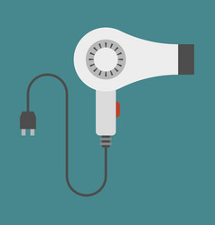 hairdryer vector image