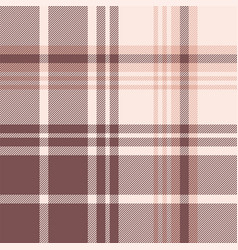 Plaid pattern pink background vector