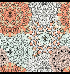 Seamless exotic pattern ornament for decoration vector