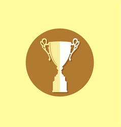 Trophy icon trendy and modern vector