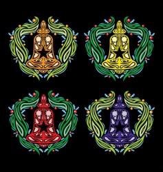 christmas jingle bell vector illustration vector image