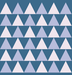 Continuing triangle shape repeating seamless vector
