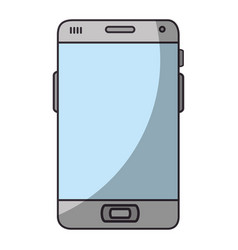 Isolated smart cellphone vector