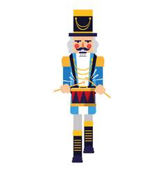 Nutcracker toy design vector