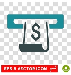 Paper Receipt Slot Icon vector