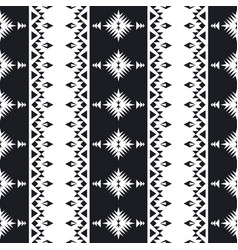 Southwest american indian aztec navajo pattern vector