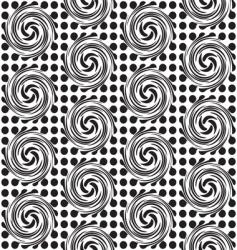 Spot twirl background vector