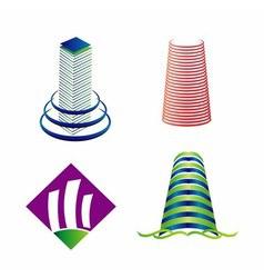 Tower logo vector